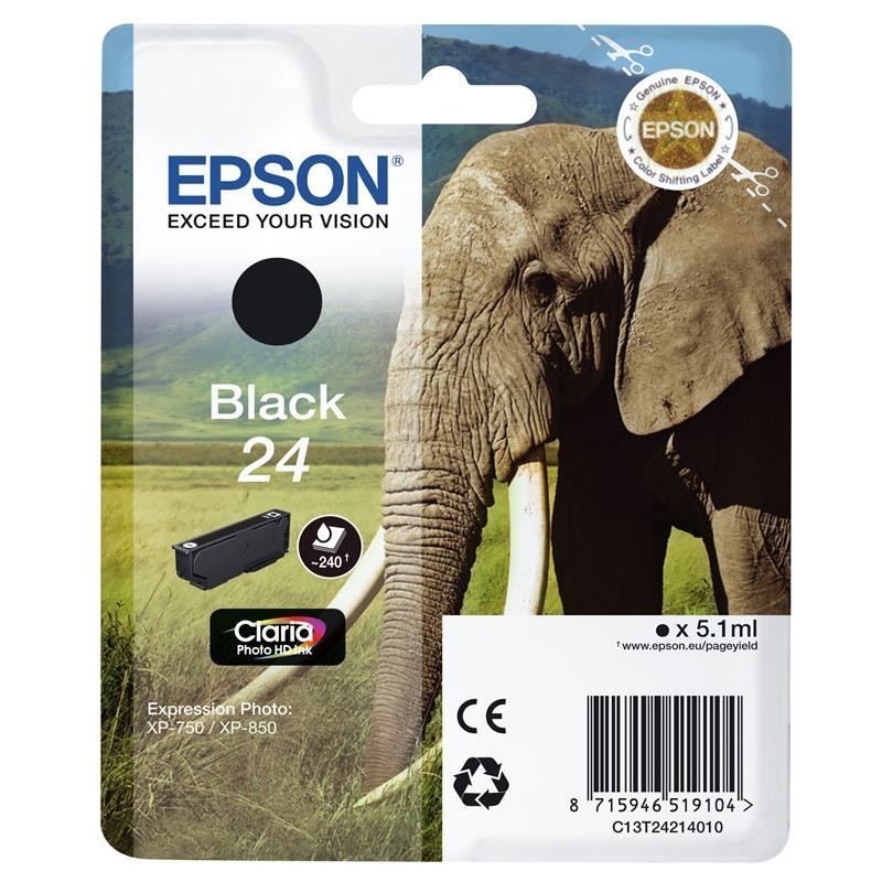 Epson Cartucho T24 Negro