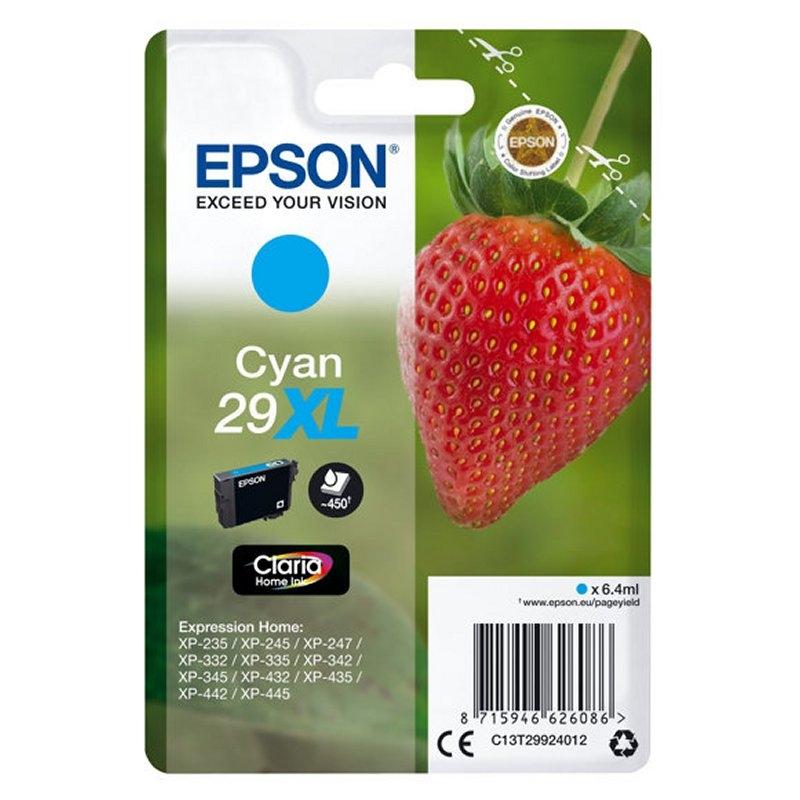 Epson Cartucho T2992XL Cian
