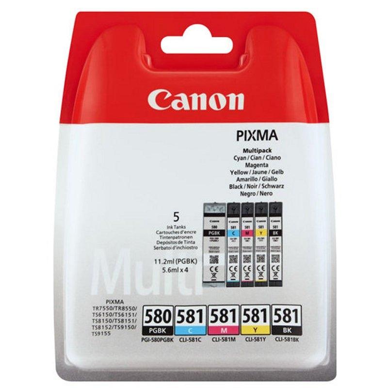Canon Cartucho Multipack PGI-580/CLI-581