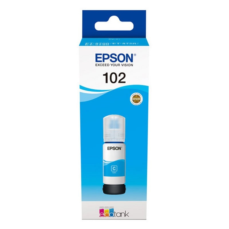 Epson Cartucho Kit Relleno 102 Cián 70ml