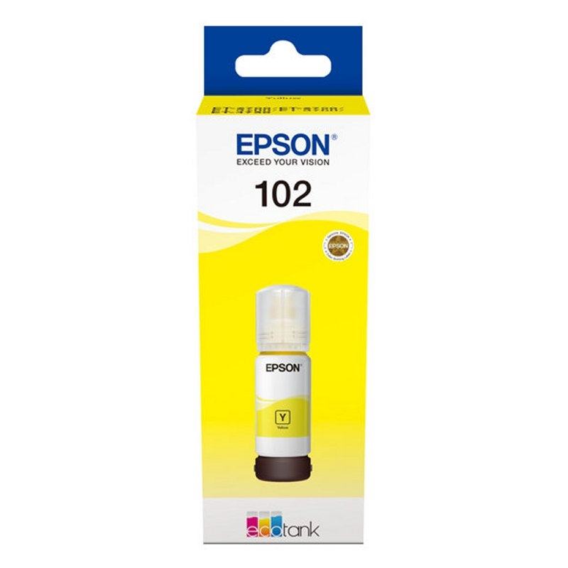Epson Cartucho Kit Relleno 102 Amarillo 70ml
