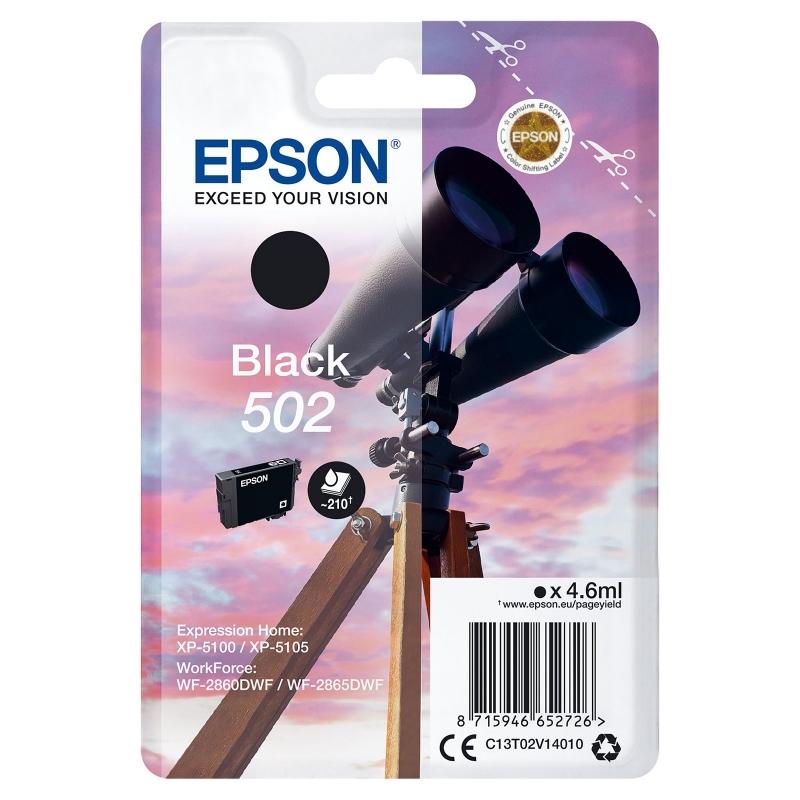 Epson Cartucho 502 Negro