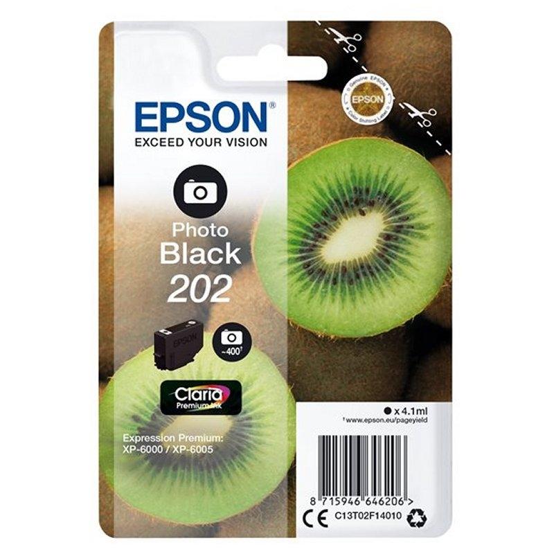 Epson Cartucho 202 Negro