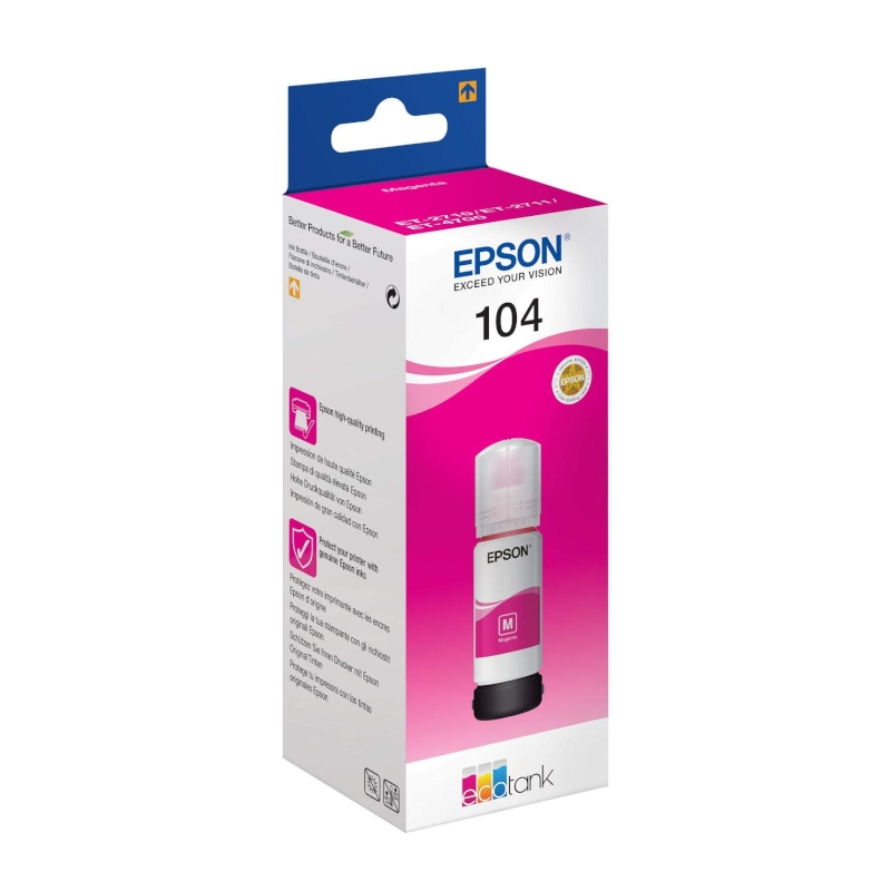Epson Cartucho Kit Relleno 104 Magenta 70ml