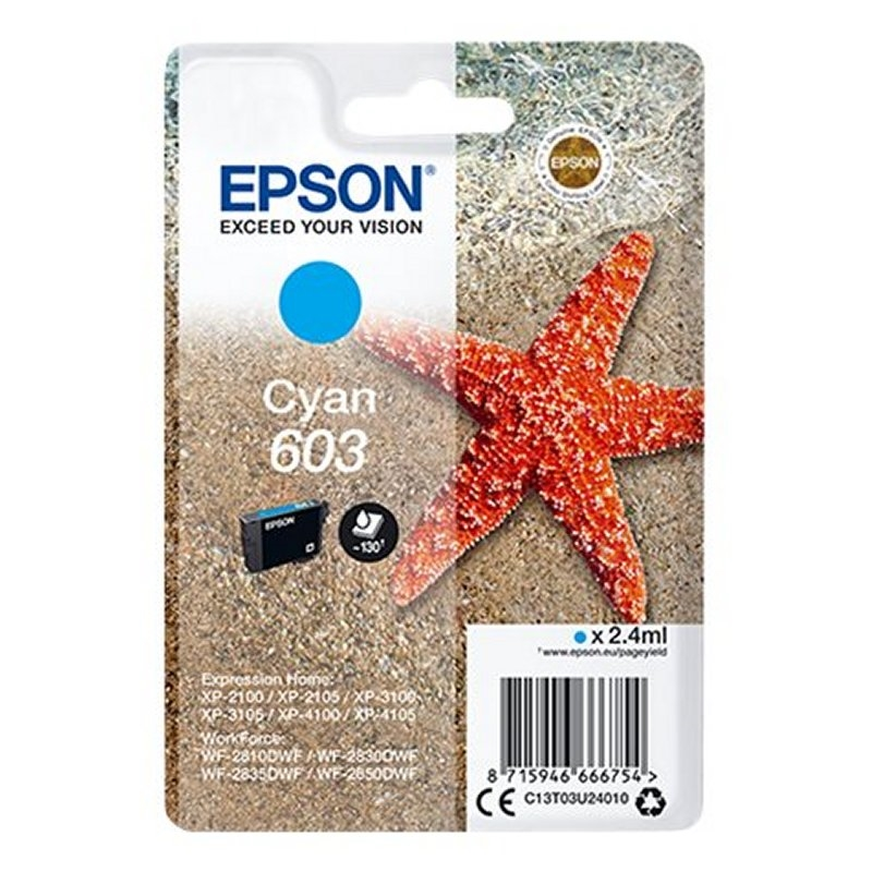 Epson Cartucho 603 Cián