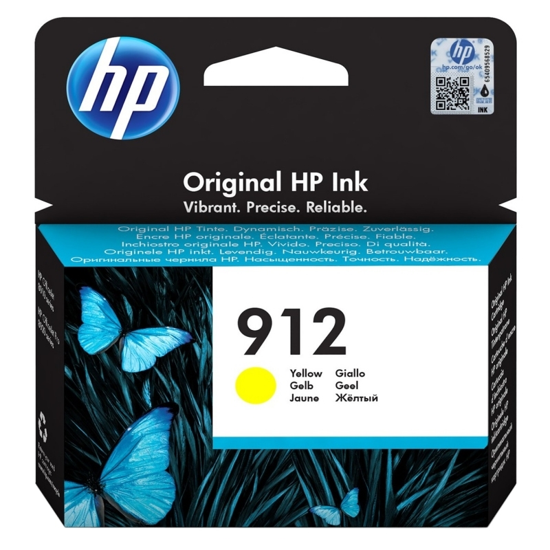 HP 912 Cartucho Amarillo 2,93ml Officejet Pro 8022