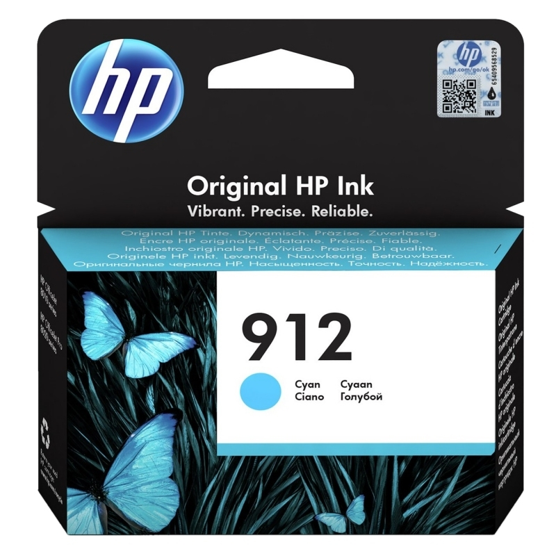 HP 912 Cartucho Cián 2,93ml Officejet Pro 8022