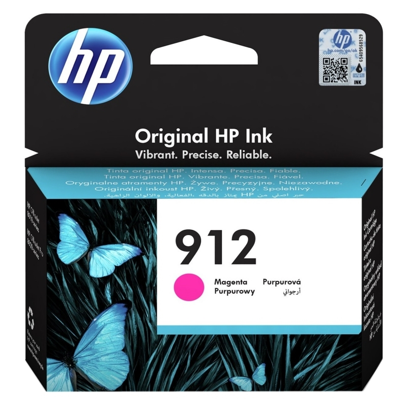 HP 912 Cartucho Magenta  2,93ml Officejet Pro 8022