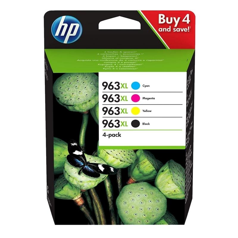 HP nº963XL Pack 4 Cartuchos C/M/Y/K PRO 9010