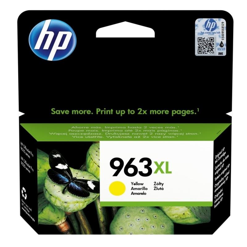HP 963XL Cartucho Amarillo 3JA29AE Pro 9010