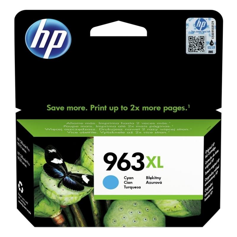HP 963XL Cartucho Cián 3JA27AE Pro 9010