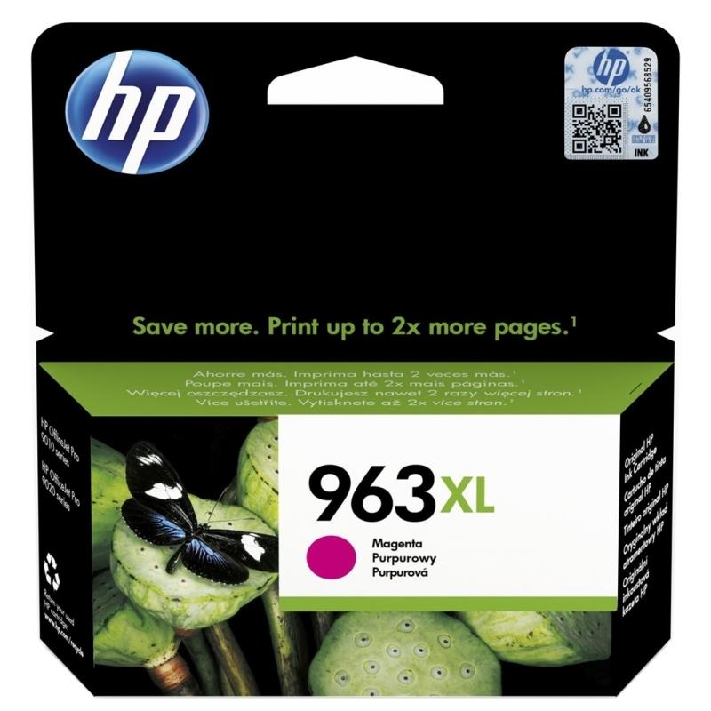 HP 963XL Cartucho Magenta 3JA28AE Pro 9010