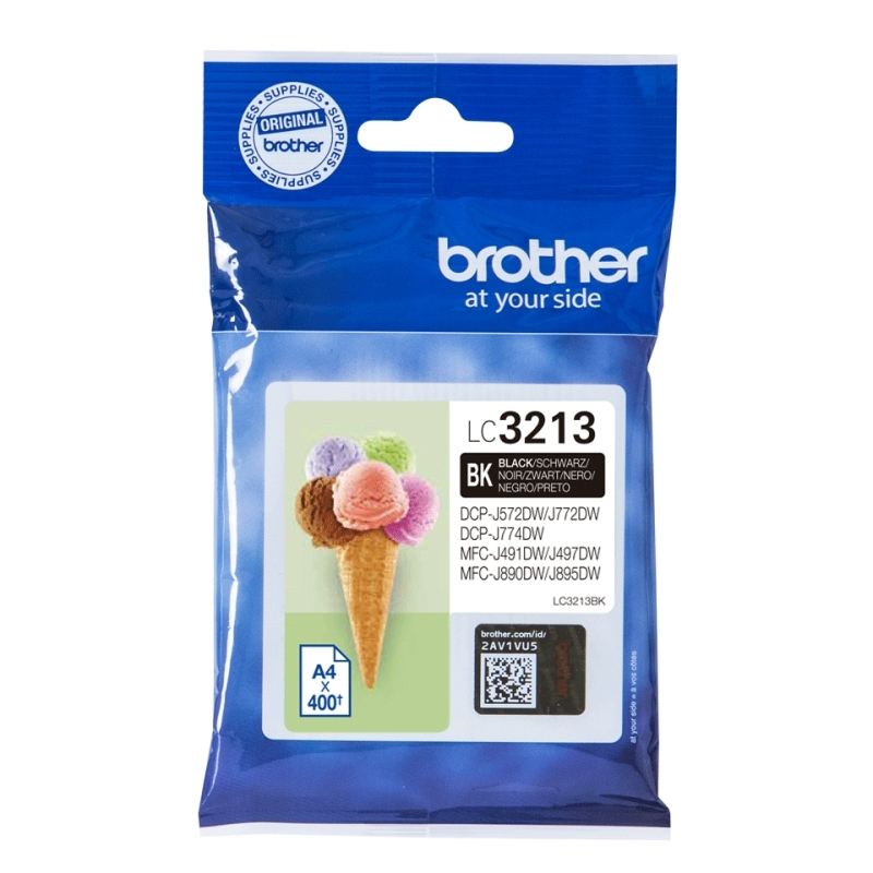 Brother Cartucho LC3213BK Negro