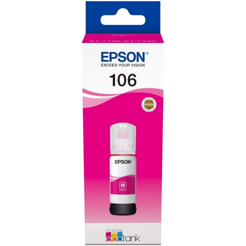 Epson Cartucho Kit Relleno 106 Magenta 70ml