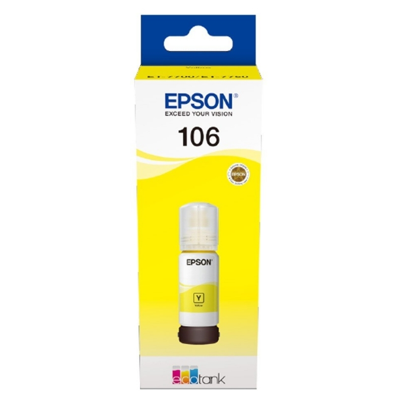 Epson Cartucho Kit Relleno 106 Amarillo 70ml