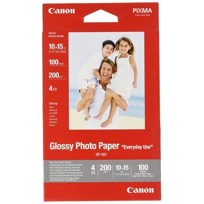 CANON Papel Glossy Photo 10x15(100hojas)