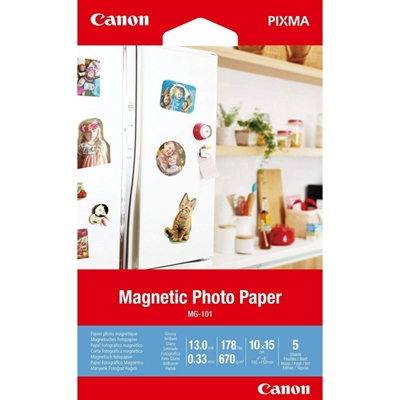 Canon Magnetic Photo Paper MG-101 5 hojas