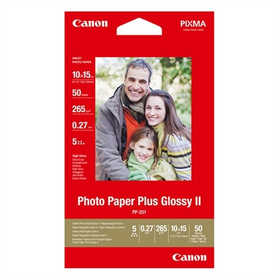 Canon Photo Paper Plus Glossy II PP-201 50 hojas