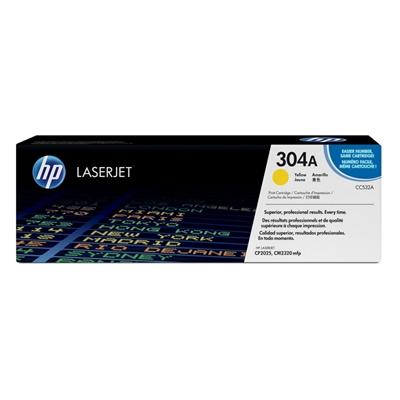 HP CC532A Tóner Amarillo Laserjet CP2025/CM2320mfp