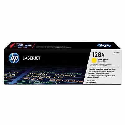 HP Tóner AMARILLO 128A