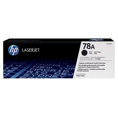 HP CE278A tóner LaserJet Pro P1566/P1606 negro