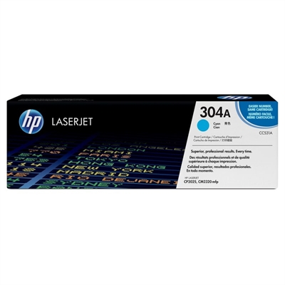 HP CC531A Tóner Cyan Laserjet CP2025/CM2320mfp