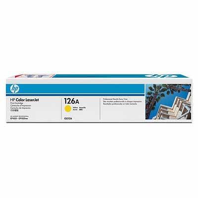 HP Tóner YELLOW HP 126A