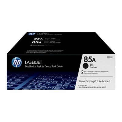 HP 85A (CE285AD) tóner Laserjet negro pack 2 unid.