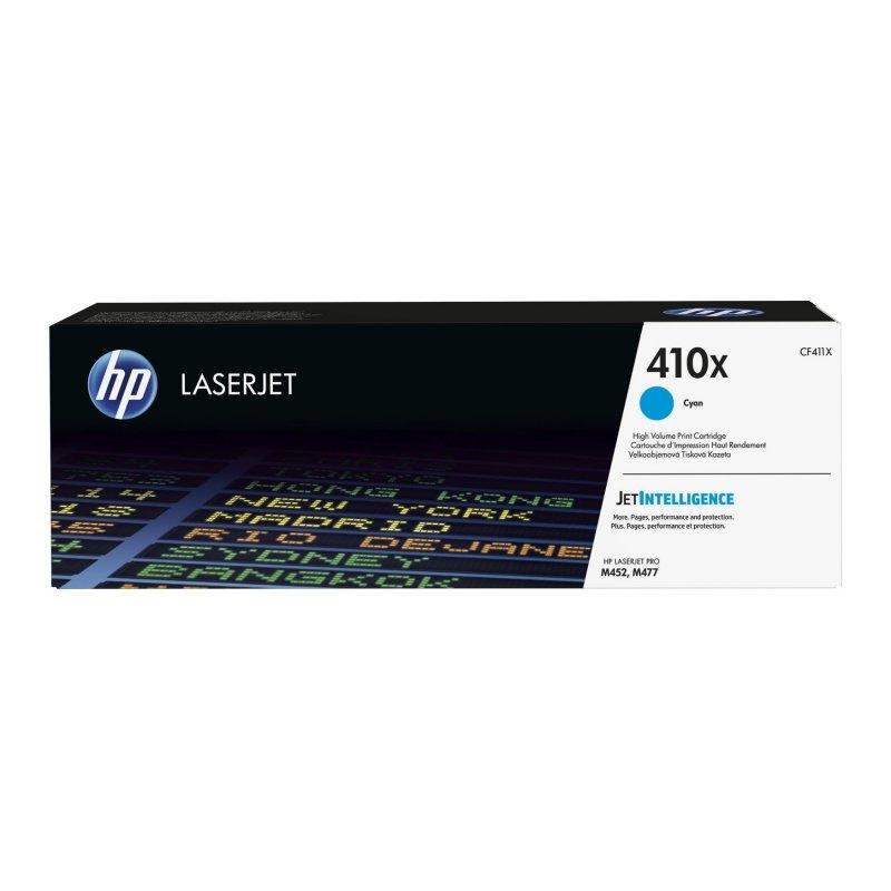 HP CF411X  410X tóner láser Cyan  M452DN/NW