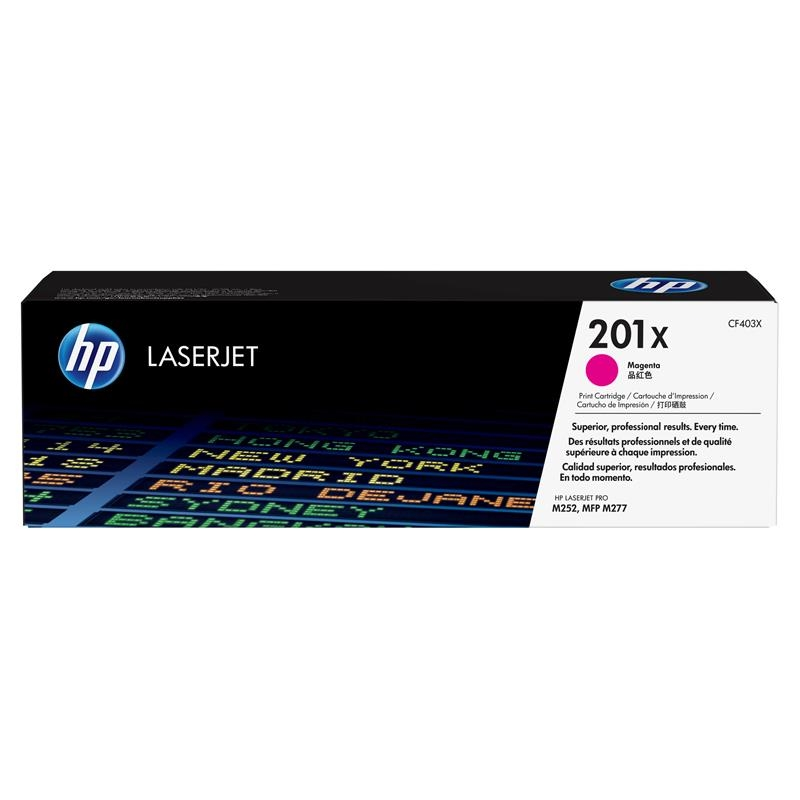 HP Toner Magenta 201X  (CF403X)