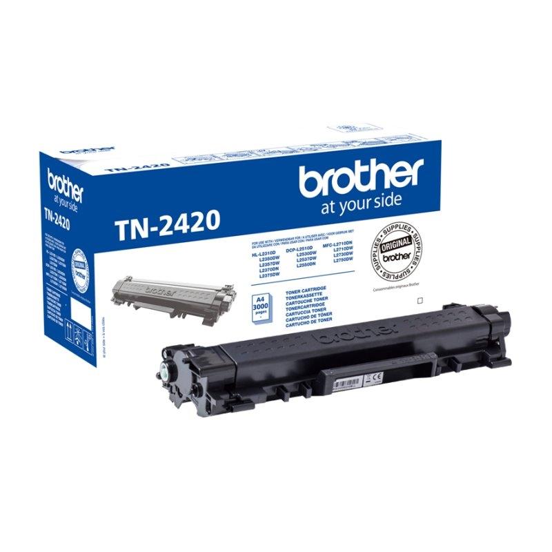 BROTHER TN-2420  Tóner Negro  DCP-L2530DW--L2510D