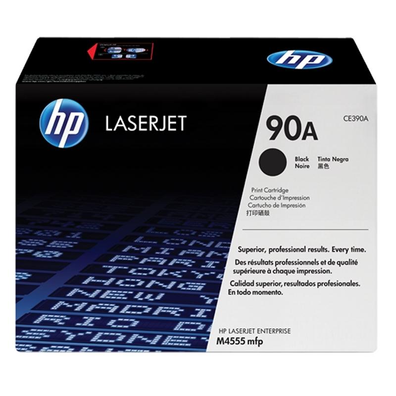 HP CE390A 90A tóner láser Negro   Enterprise 600