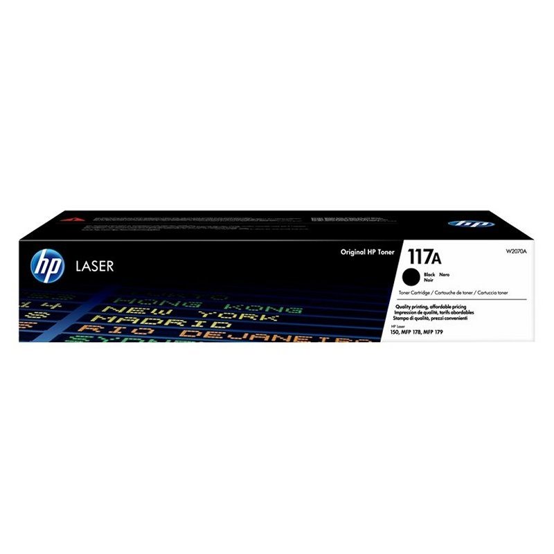 HP 117A Negro Laser 150A/178/179Fnw 1000 Pag.