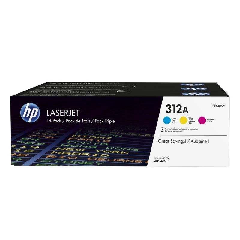 HP LaserJet 312A Pack 3 Toner color