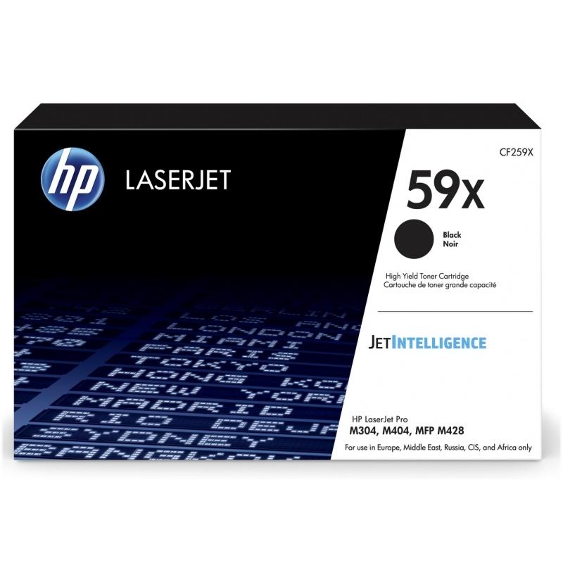 HP 59X tóner Negro 10000 pag.  M404dn/404dw/404n