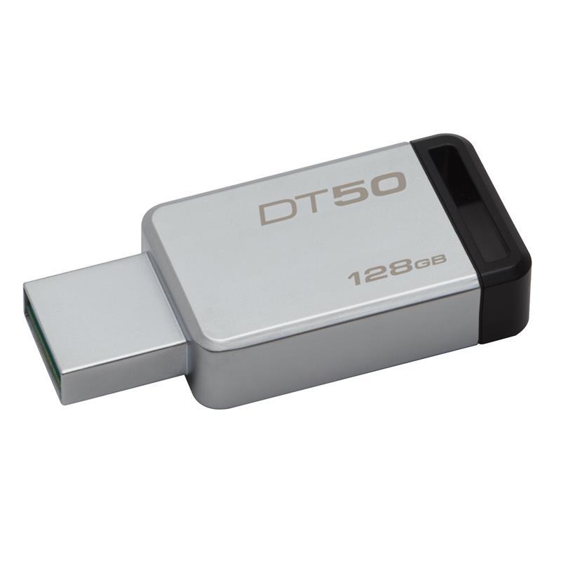Kingston DataTraveler DT50 128GB USB 3.0 Negro