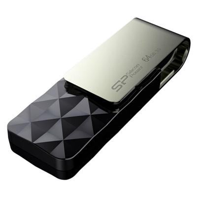 SP Blaze B30 Lápiz USB 3.1 64GB Negro