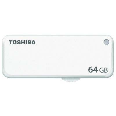 Toshiba Lápiz usb 64GB blanco HAYABUSA U203