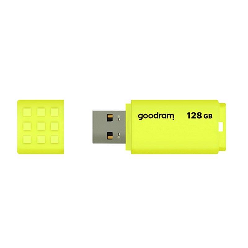 Goodram UME2 Lápiz USB 128GB USB 2.0 Amarillo