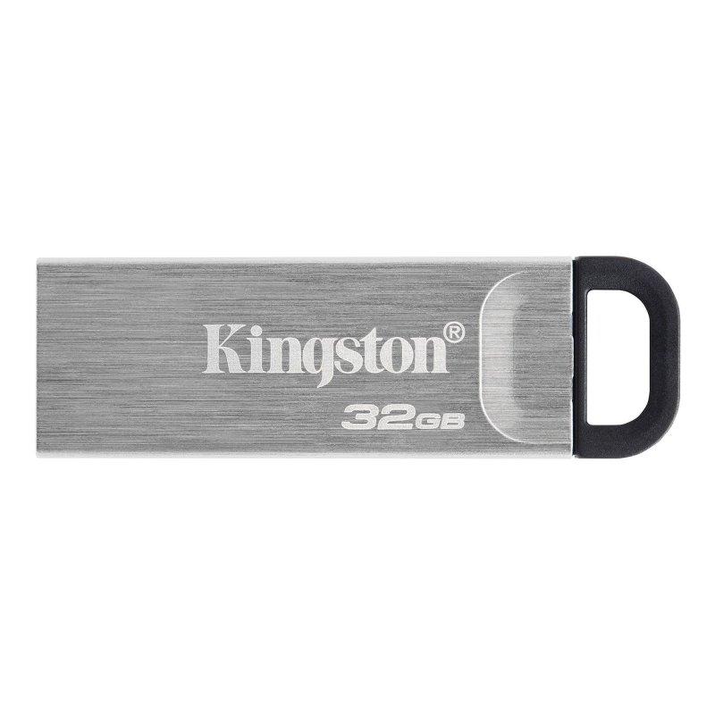 Kingston DataTraveler DTKN 32GB USB 3.2 Gen1 Plata