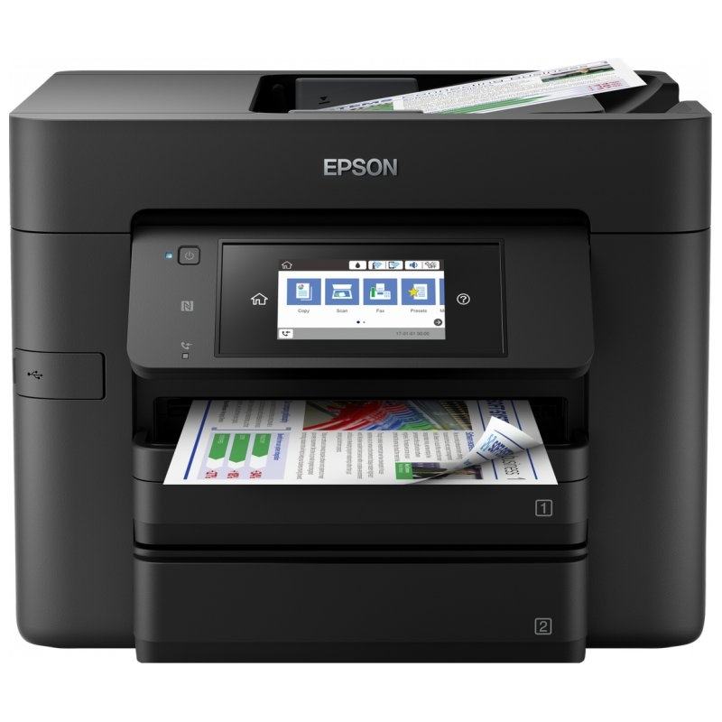Epson Multifunción WorkForce WF-4740DTWF Wifi Fax