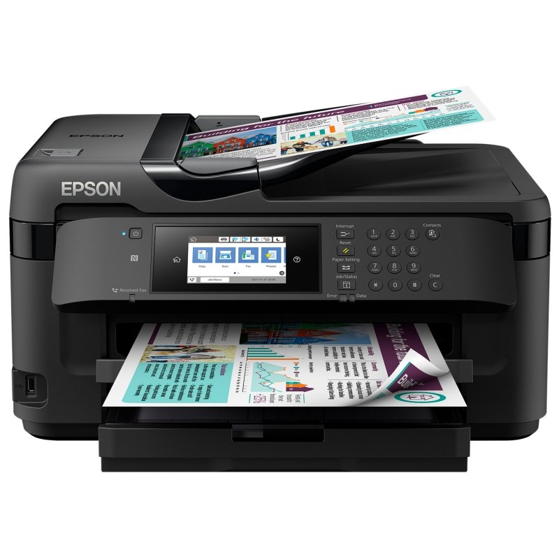 Epson Multifunción WorkForce WF-7710DWF A3