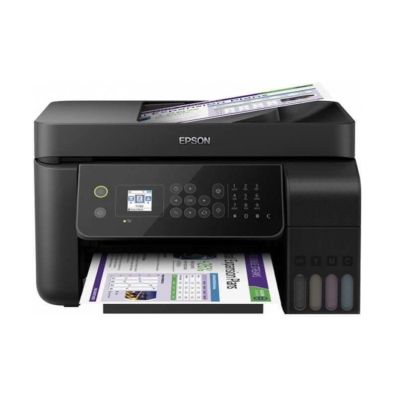 Epson Multifunción Ecotank ET-4700 Wifi Fax Red
