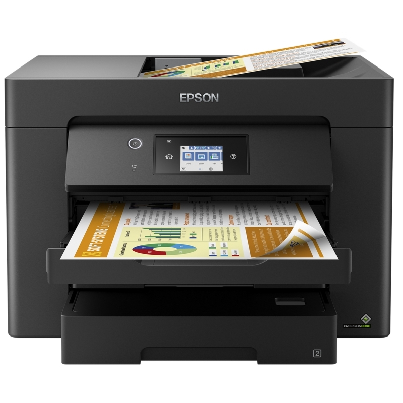 Epson Multifunción WorkForce WF-7830DTWF