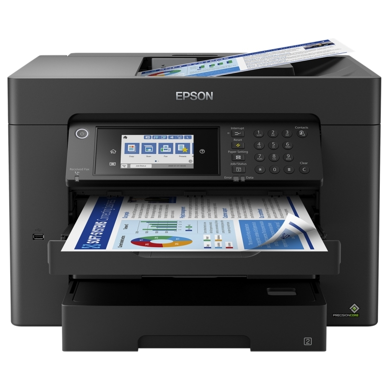 Epson Multifunción WorkForce WF-7840DTWF