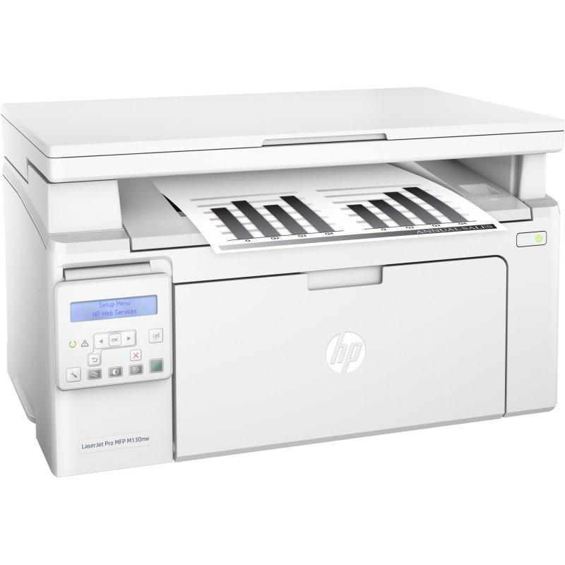 HP Multifunción LaserJet Pro MFP M130nw Wifi Red