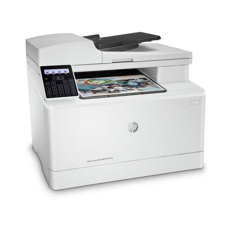 HP Multifunción Color LaserJet Pro MFP M181fw