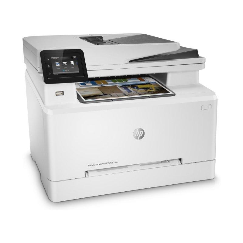 HP Multifunción Color LaserJet Pro MFP M281fdn