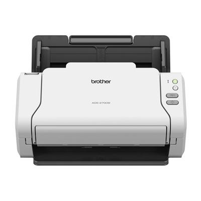 Brother Escáner Documentos ADS-2700WDuplex Wif Red
