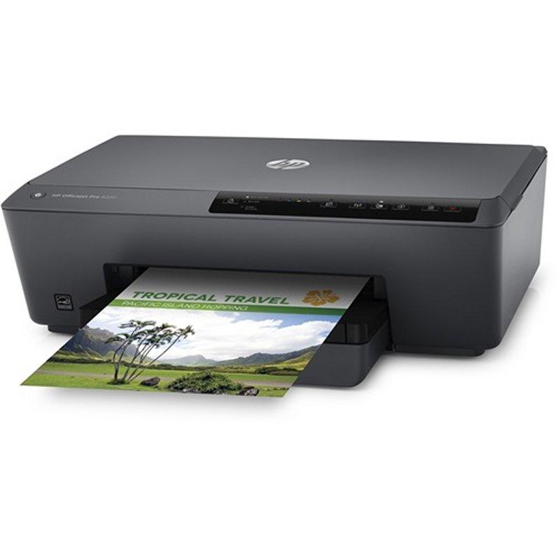 HP Impresora Color Officejet Pro 6230 Duplex Red
